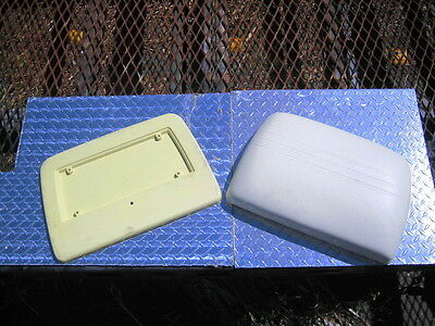 Hyundai golf car nos seat back and shell assembly, oem parts new