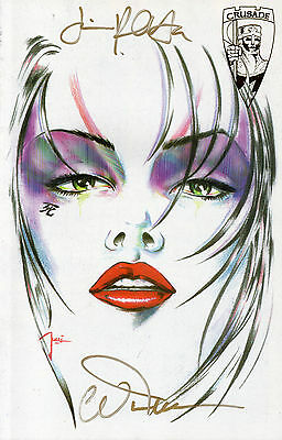 Shi The Way Of The Warrior #1 (NM)`95 Tucci (Signed/ Fan/ Virgin Edition)