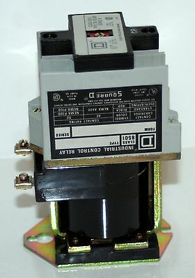 Square-D  Class 8501  Type Xd0 40  Control Relay  Series A   8 Poles Max - New