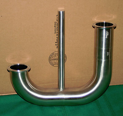 """2"""" Sanitary 316L Stainless Steel Fitting NEW"""