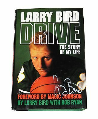 Larry Bird Drive The Story Of My Life Hand Signed Autobiography Book With Coa