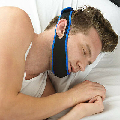 Anti Snore Belt Stop Snoring Chin Strap Anti Apnea Jaw Support Solution Sleep
