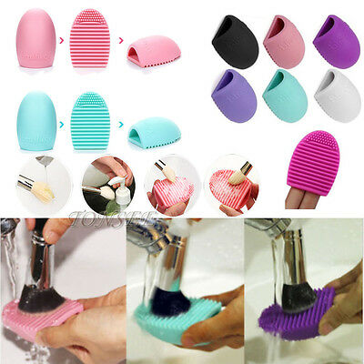 Makeup Brush Cleaners Silicone Cosmetic Foundation Glove Scrubber Cleaning Tool
