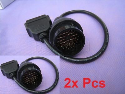 38 Pin to 16 Pin OBD 2 Diagnostic Adapter Connector Lead Cable for Mercedes Benz