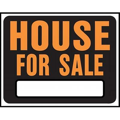 Hy-ko SP-103 15 in. X 19 in. Plastic House For Sale Sign Pack of 5