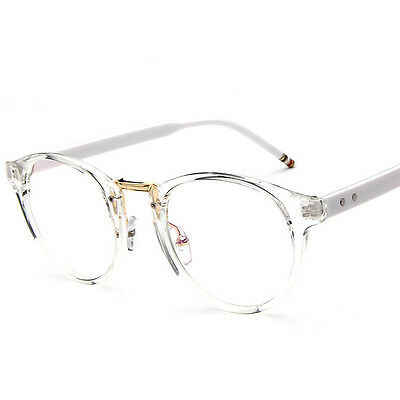 Vintage Antique Myopia Frame Plain glasses Eyeglass Clear Unisex Glasses