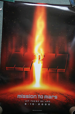 Mission To Mars (adv) (2000) US dble Sheet Movie Poster 24 X 41 inches