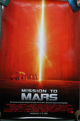 Mission To Mars (Reg) (2000) US dble Sheet Movie Poster 24 X 41 inches