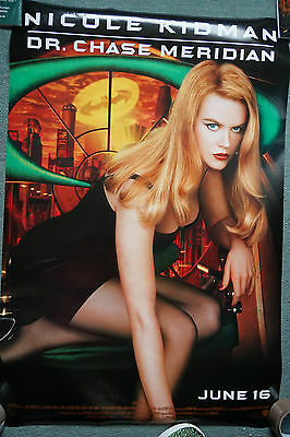 Batman Forever- Dr Chase Meriden (1995)US dble Sheet Movie Poster 24 X 41 inches