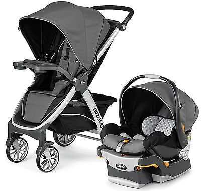 Chicco Bravo Trio 3-in-1 Baby Travel System Stroller w/ KeyFit 30 Orion NEW