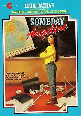 Someday Angeline by Louis Sachar (English) Paperback Book Free Shipping!