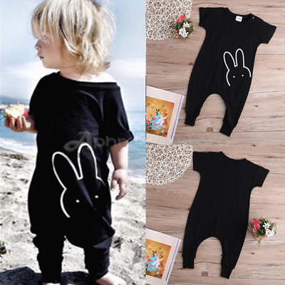 Newborn Infant Baby Boy Girl Quote Romper Toddler Jumpsuit Bodysuit Clothes