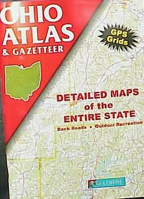 del Atlas Ohio by Delorme Mapping Company Paperback Book (English)