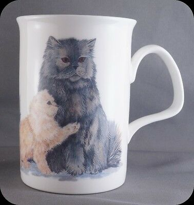 Roy Kirkham Kitten Cat Lovers Fine Bone China Coffee Mug