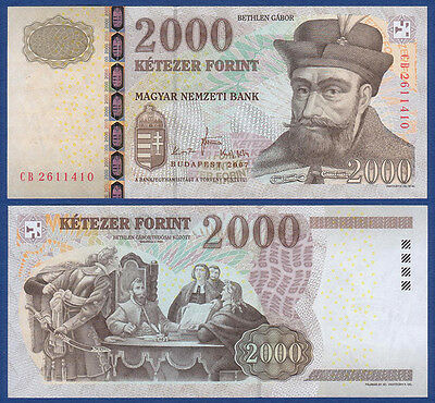 UNGARN / HUNGARY 2000 Forint 2007 UNC  P.198 a