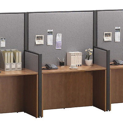 CUBICLE WORKSTATION TELEMARKETING STATION Call Center Desk Office Panel System