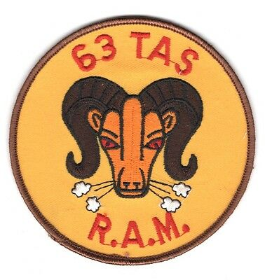 """USAF Air Force Patch:   63d Tactical Airlift Squadron - 4"""""""