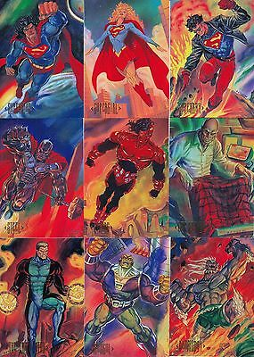Dc Comics Master Series 1994 Skybox Complete Base Card Set Of 90