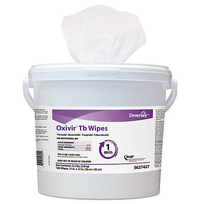 Diversey™ Oxivir Tb Disinfectant Wipes 11 X 12 White 160/bucket 4 Bucket/carton