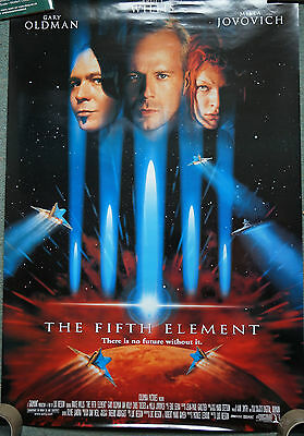 The Fifth Element (1997) US Dble sheet movie poster 27 x 41 inches