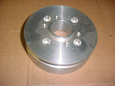 Blower Supercharger ACCESSORY DRIVE 2 VEE V-PULLEY HUB BBC CHEVY STREET ROD HOT