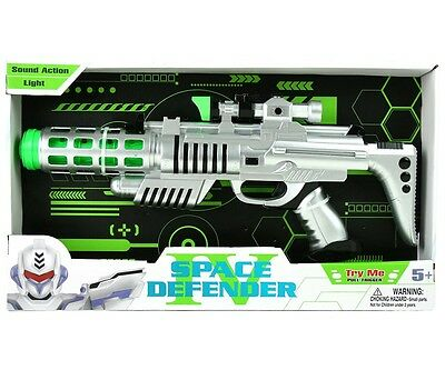 Space Defender Lasergun mit Licht und Sound Star Wars