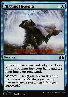 4x Nagging Thoughts ● Shadows over Innistrad ● M/NM ● MTG SOI