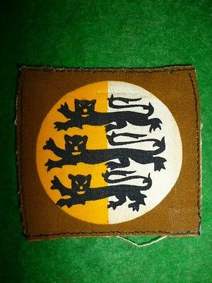 Dorset County Cloth Shoulder Formation Patch / Badge, WW2