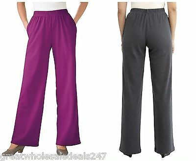PLUS SIZE KNIT PANTS (Wholesale Lots of 25)