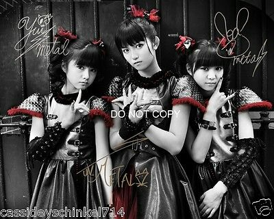 "Babymetal Japenese Heavy Metal Trio Reprint Signed 11x14"" Poster Photo #4 RP"
