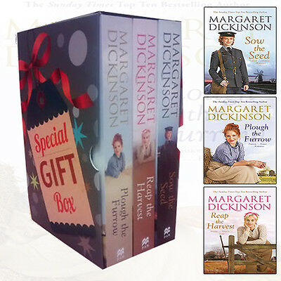Margaret Dickinson Fleethaven Trilogy 3 Books Set Gift Wrapped Slipcace [PB] NEW