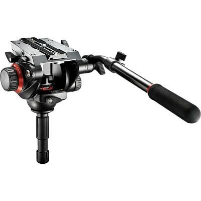 Manfrotto 504HD Video Fluid Quick Release Head, Supports 19 lbs.
