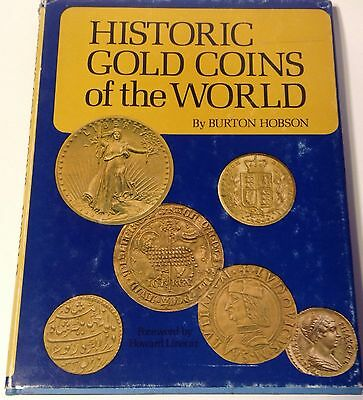 Historic Gold Coins of the World Hardcover Book Bhh Burton Hobson