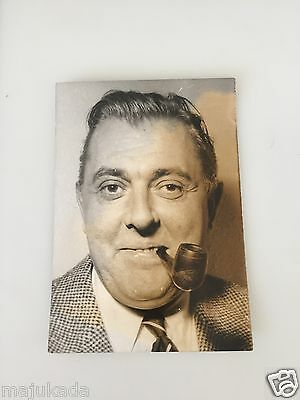 JACQUES TATI  - PHOTO DE PRESSE ORIGINALE 12x9cm