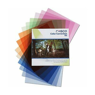 Rosco Color Correction Filter Kit for Photographers and Filmmakers, 12x12""