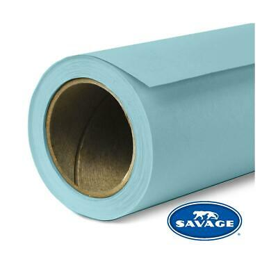 """Savage Seamless Background Paper, 53"""" wide x 12 yards, Sky Blue, #2 #2-1253"""