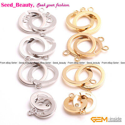 14K Gold-filled Jewelry Making Findings Toggle Clasp For Necklace/Bracelet 1 pce