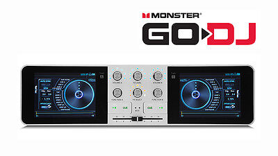Monster Go-DJ GoDJ Portable DJ System Touchscreen Studio Pocket DJ Mixer