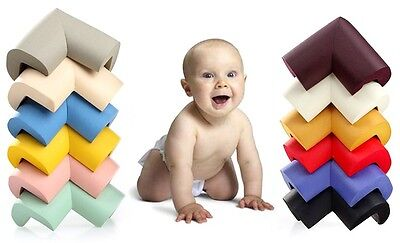 4X Baby Child Safety Table Edge Protector Bumper Corner Protection Cushion Guard