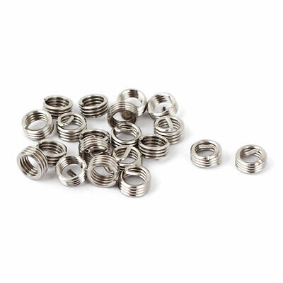 2mm Length M4 x 0.7mmx1D Helicoil Wire Thread Repair Inserts 20 Pcs