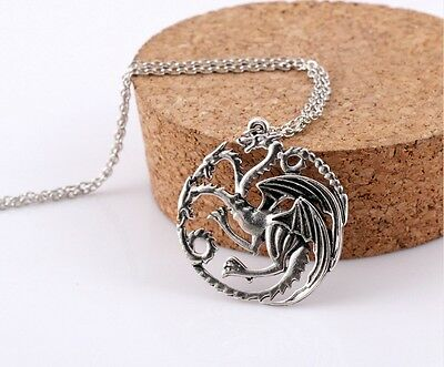 Game of Thrones Attractive Pendant Targaryen A Song of Ice and Fire Necklace