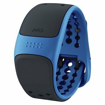 Mio Link Velo Heart Rate Monitor Longer Strap Blue