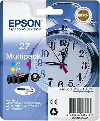 Genuine Epson T2705 C13T27054010 Ink WorkForce WF-3620 WF-3640 WF-7110 WF-7610