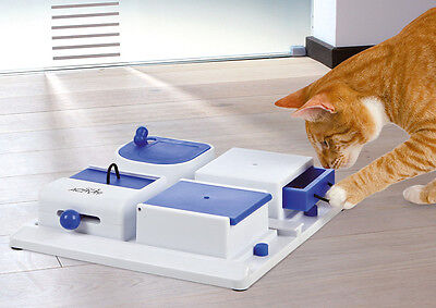 Trixie Pet Products Poker Activity Litter Box