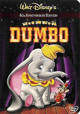 Walt Disney ~ Dumbo ~ 60th Anniversary Edition ~ DVD ~ FREE Shipping USA