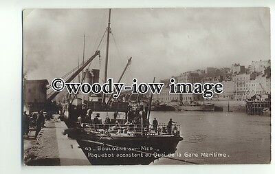 f0184 - Southern Railways Ferry - Riviera at Boulogne - postcard