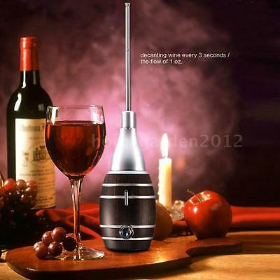 Mini Red Wine Dispenser Aerator Pumps Electric Fast Wine Decanting Devices B1V9
