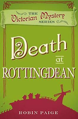 Death in Rottingdean (A Victorian Mystery Book 5) (Death at) by Robin Paige The