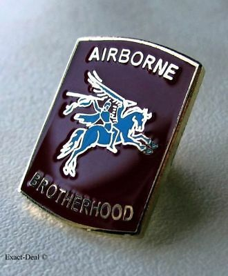 Canadian & Commonwealth Forces Airborne Brotherhood PARACHUTE Jump Lapel Pin