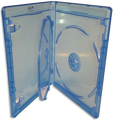 10-Pak VIVA ELITE =Triple= 12.5mm Blu-ray Case w/ Blu-ray & Viva Elite Logo